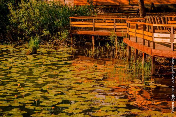 Раифский богородицкий мужской монастырь, Раифское озеро