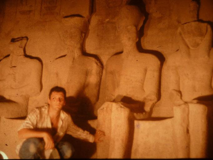 Santuario del templo de Abu Simbel