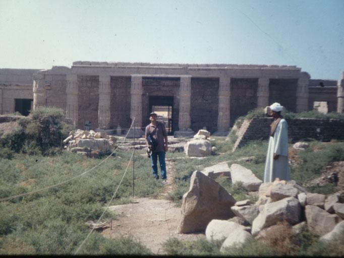 Templo mortuorio de Seti I en Luxor.