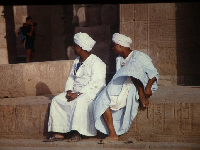 Guardianes del templo de Kom Ombo
