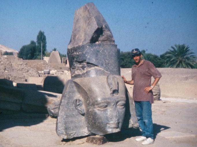Rameseum,templo de Ramses II en Luxor