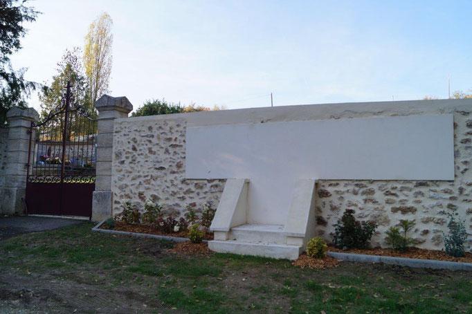 Le futur monument aux morts sera situé au cimetière communal...