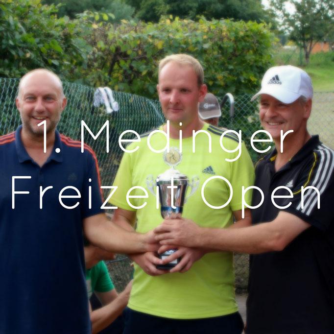Bilder 1. Medinger Freizeit Open 2016