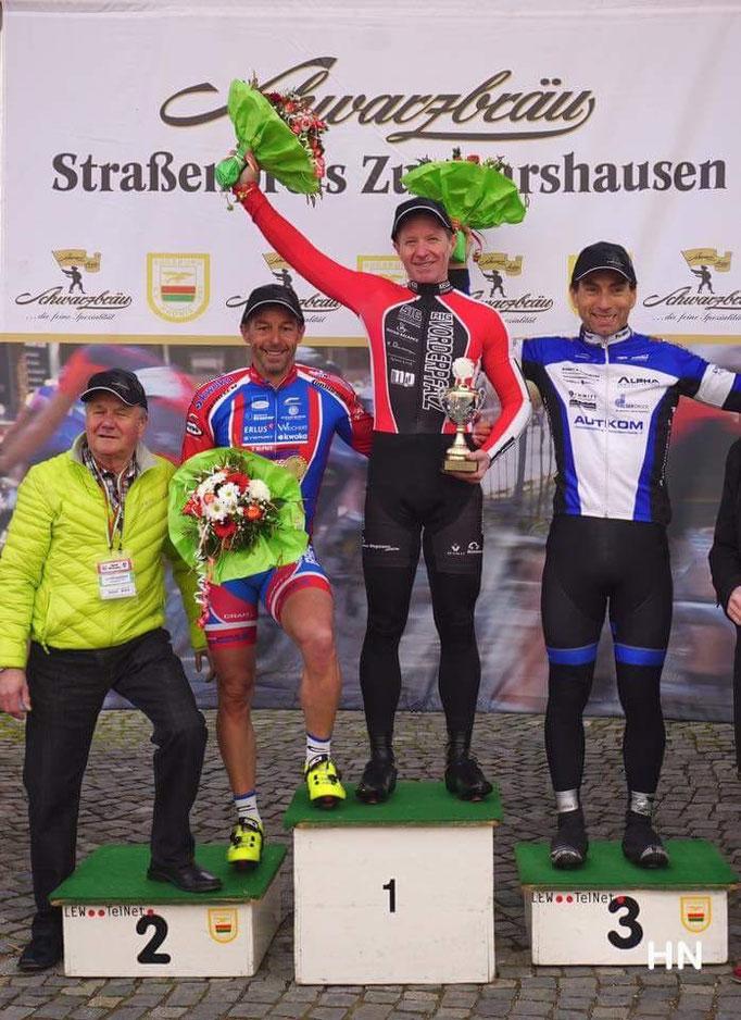Markus Swassek auf Platz 2