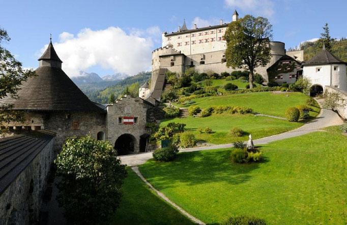 Burg Hohenwerfen -8km entfernt