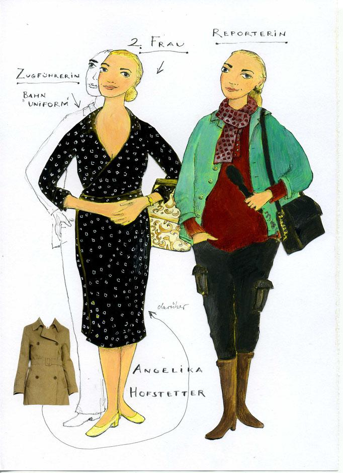 Kostümbildnerin: Annette von Bodecker-Büttner