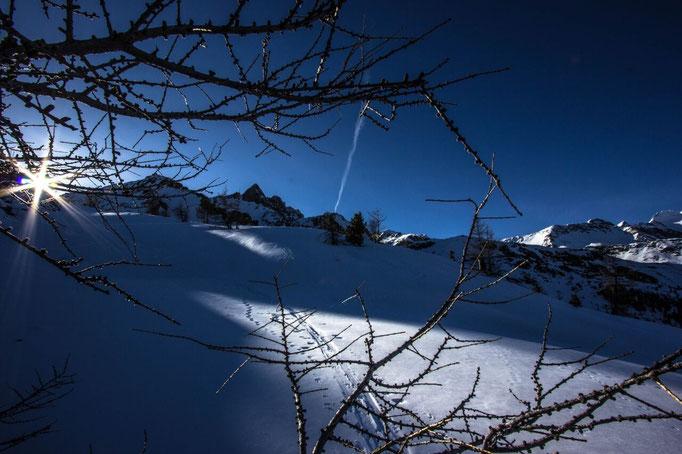 Mal ein anderer Blick auf den Tristenspitz im Winter