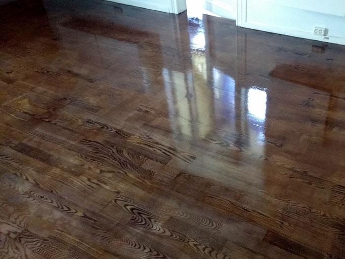 ferdig behandlet gulv