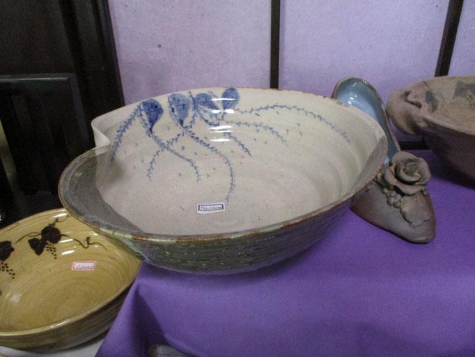 水引模様の鉢   ¥2,800