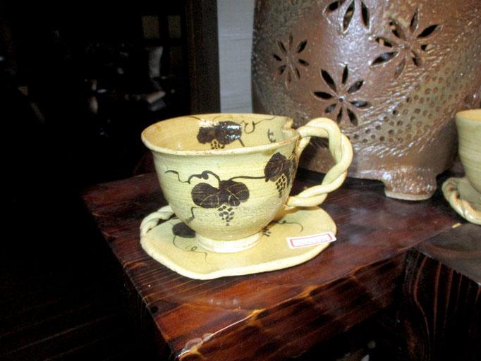 呉須絵コーヒーカップ     ¥1,200