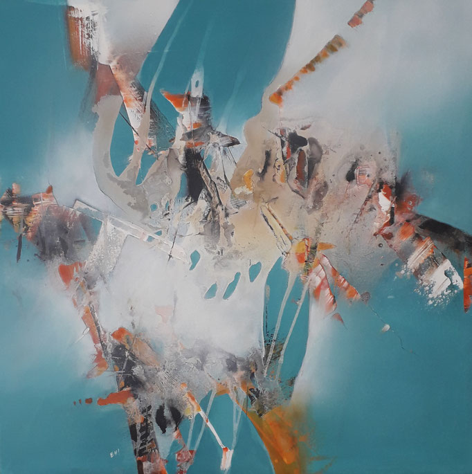98 Acryl auf Leinwand 100 x 100 cm