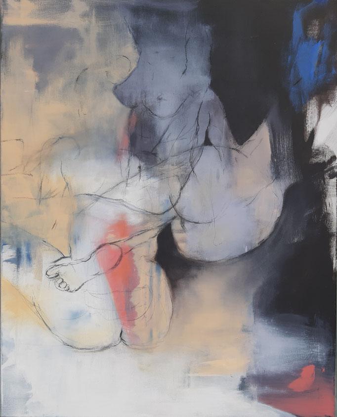 66 Acryl auf Leinwand 100 x 80 cm