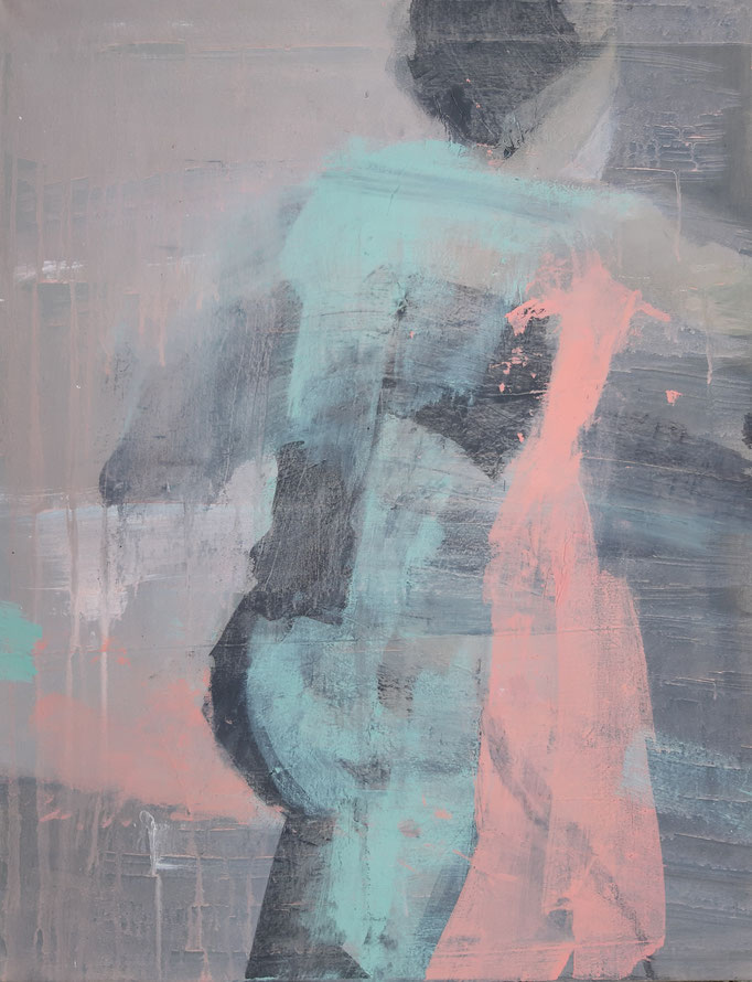 65 Acryl auf Leinwand 90 x 70 cm