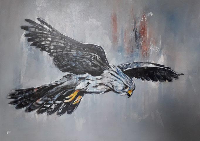 99 Acryl auf Leinwand 70 x 100 cm
