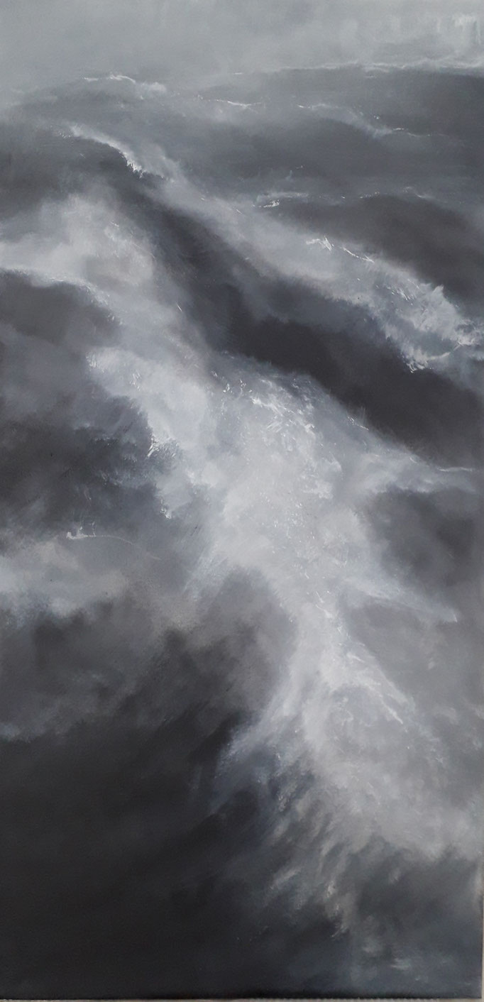 93 Acryl auf Leinwand 100 x 50 cm
