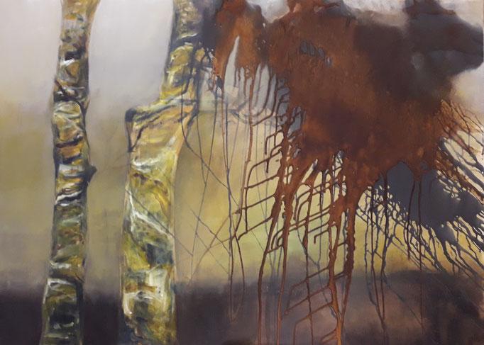91 Acryl auf Leinwand 100 x 140 cm