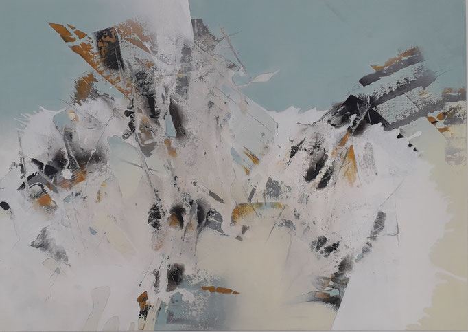 101 Acryl auf Leinwand 100 x 140 cm