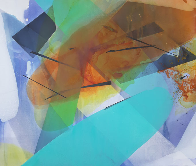 62 Acryl auf Leinwand 100 x 120 cm