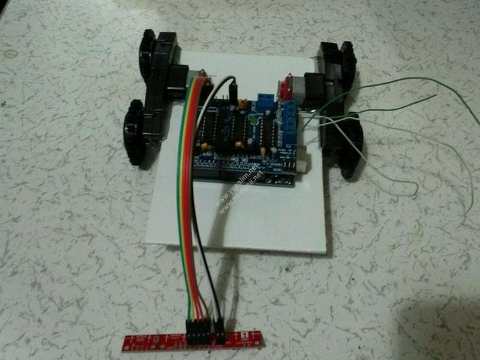 Arduino Çizgi Takip Eden Robot