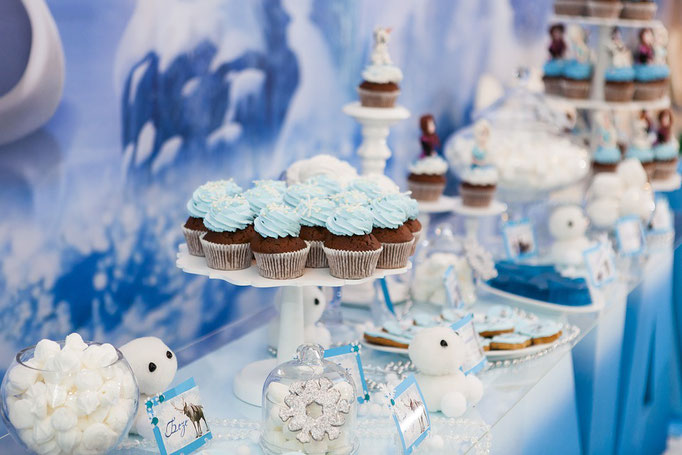 Frozen-Bar - Winterhochzeit
