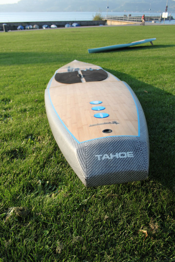 Heckansicht Tahoe Race Stand Up Paddle Board