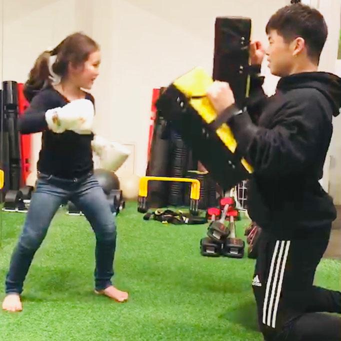 ボクシングの遊びもめちゃ楽しい!!