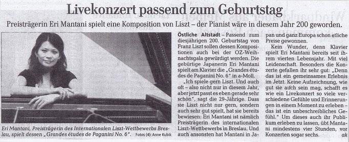 Ostsee Zeitung 2011
