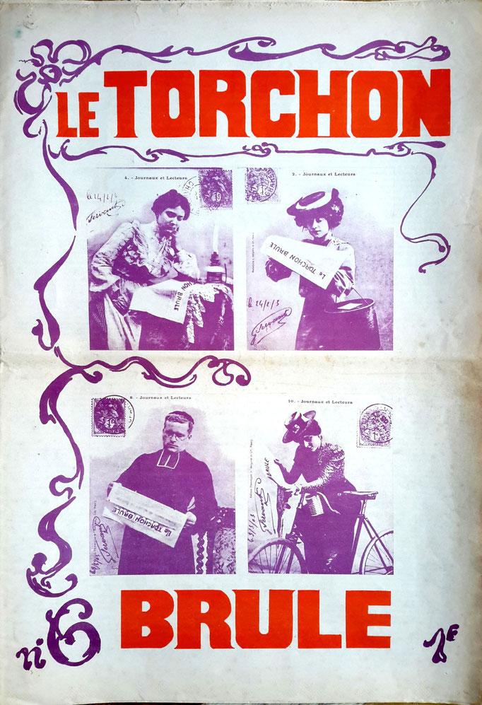 Le Torchon brûle, n°6 - couverture