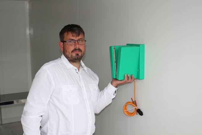 Gelernter Metzgermeister Christian Dodenhoff