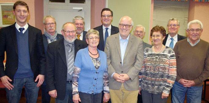 Zu Gast bei der Mitgliederversammlung der Seniorenunion