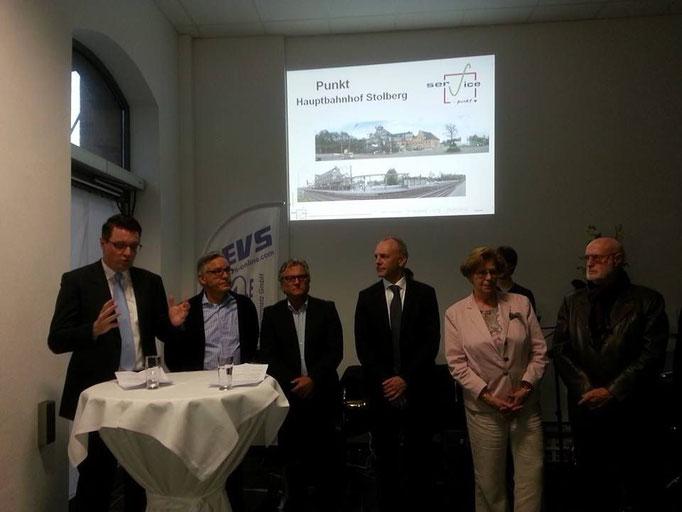 Infoveranstaltung am Servicepoint des Hauptbahnhofes