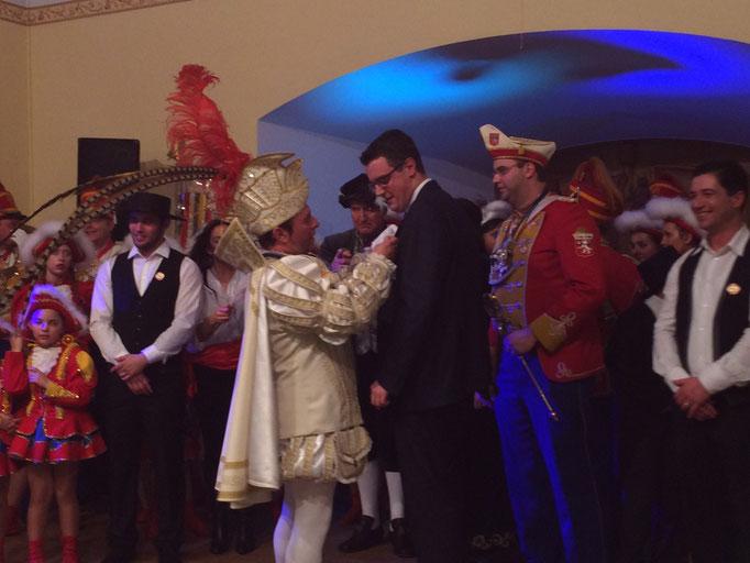 Zu Gast auf dem Burggrafenfest in Stolberg