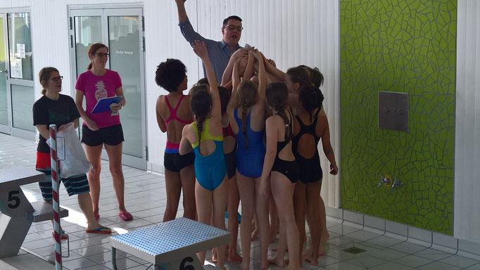 Beim Schwimmfest der Grundschulen