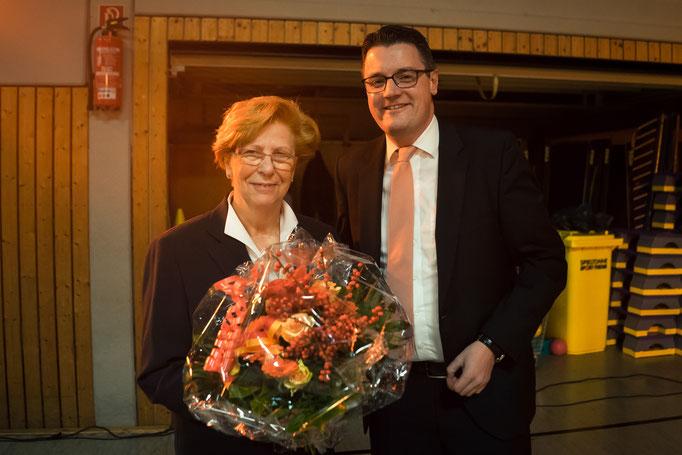 Beim Ehrenamtstag gemeinsam mit der Stolberger Ehrenamtsbeauftragten, Frau Hildegard Nießen