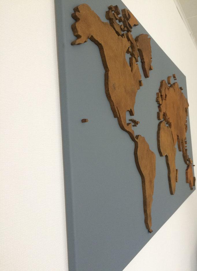 Steingrau & Rost-Effekt (120x70 cm)