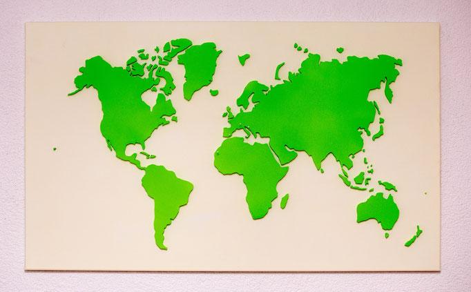 Elfenbein & Gelbgrün (100x60 cm)