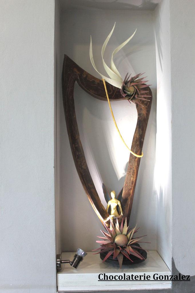 La harpe féerique, Chocolaterie Gonzalez