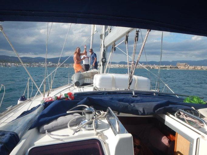 Wir laufen Palma de Mallorca an