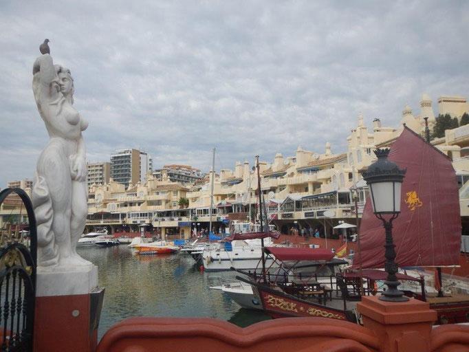 Ein Hafen der beeindruckt