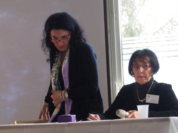 Lucia Bellizia et Danièle Jay