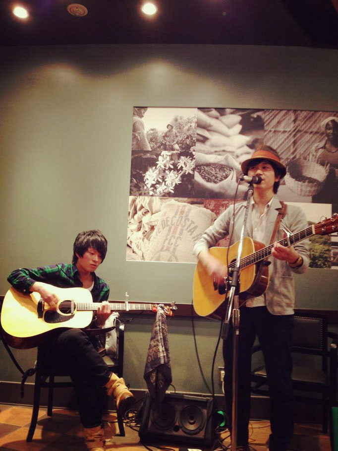 2015.3.14.sat. STARBUCKS 栄チェリープラザ店 『STARBUCKS MUSIC LIVE』