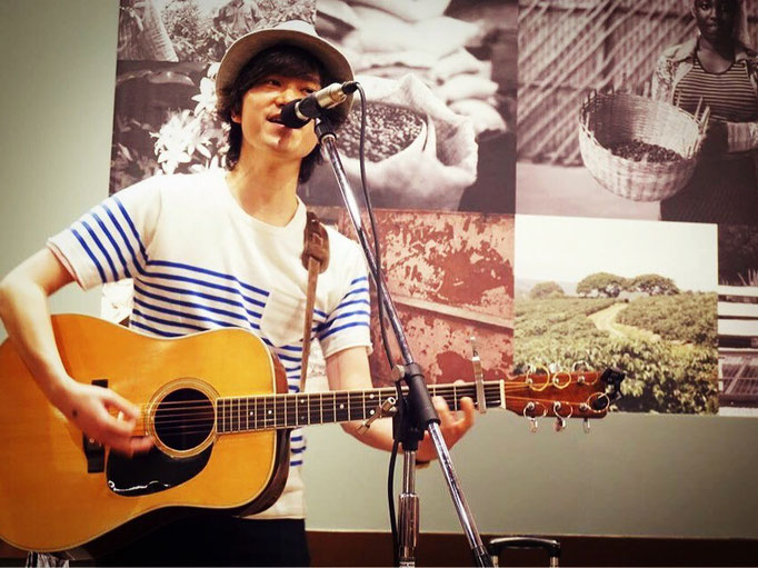 2015.7.5.sun. STARBUCKS 栄チェリープラザ店 『STARBUCKS MUSIC LIVE』