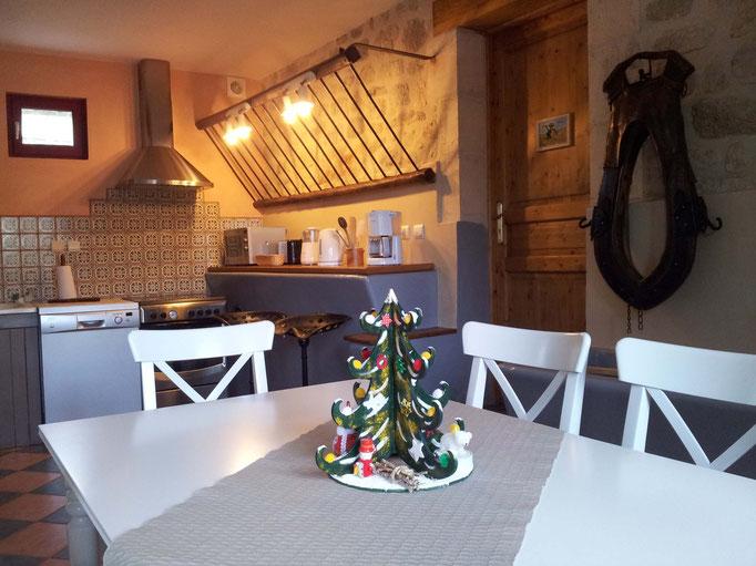 Salle à manger de la Bergeronnette près de Laon