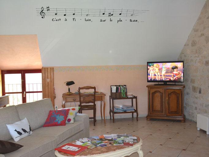 Salon avec connexion Wifi