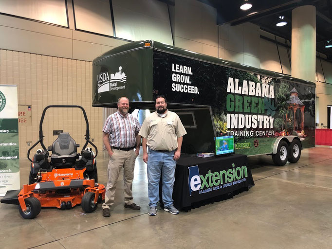 Landscape Equipment Trailer at World of Work Event