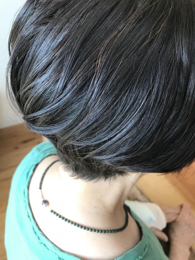 ヘナカラーの仕上がりイメージ|ヘアサロン528【hairsalon528】茅ヶ崎にある髪と地肌に優しいオーガニックヘナカラーの専門店