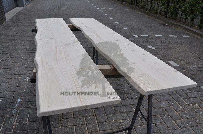 Vensterbank  steigerhout boomstamlook
