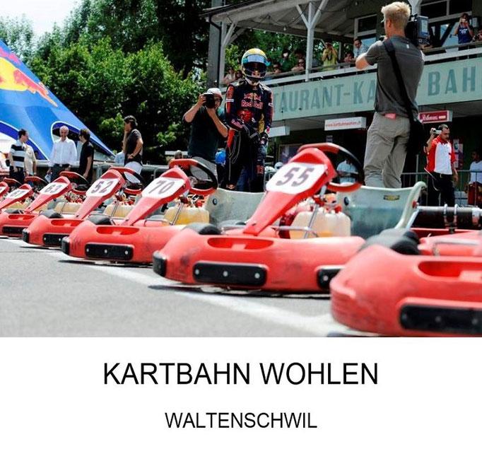 Geburstagsparty für Kinder Kartbahn Wohlen