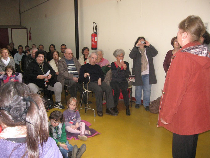Aux Floralys, place aux lectures théatralisées du centre social