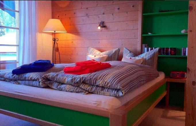 Ferienwohnung im Kleinwalsertal – Michael Fritz – Schlafzimmer
